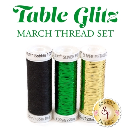 Table Glitz Series - March - 3 pc Thread Set