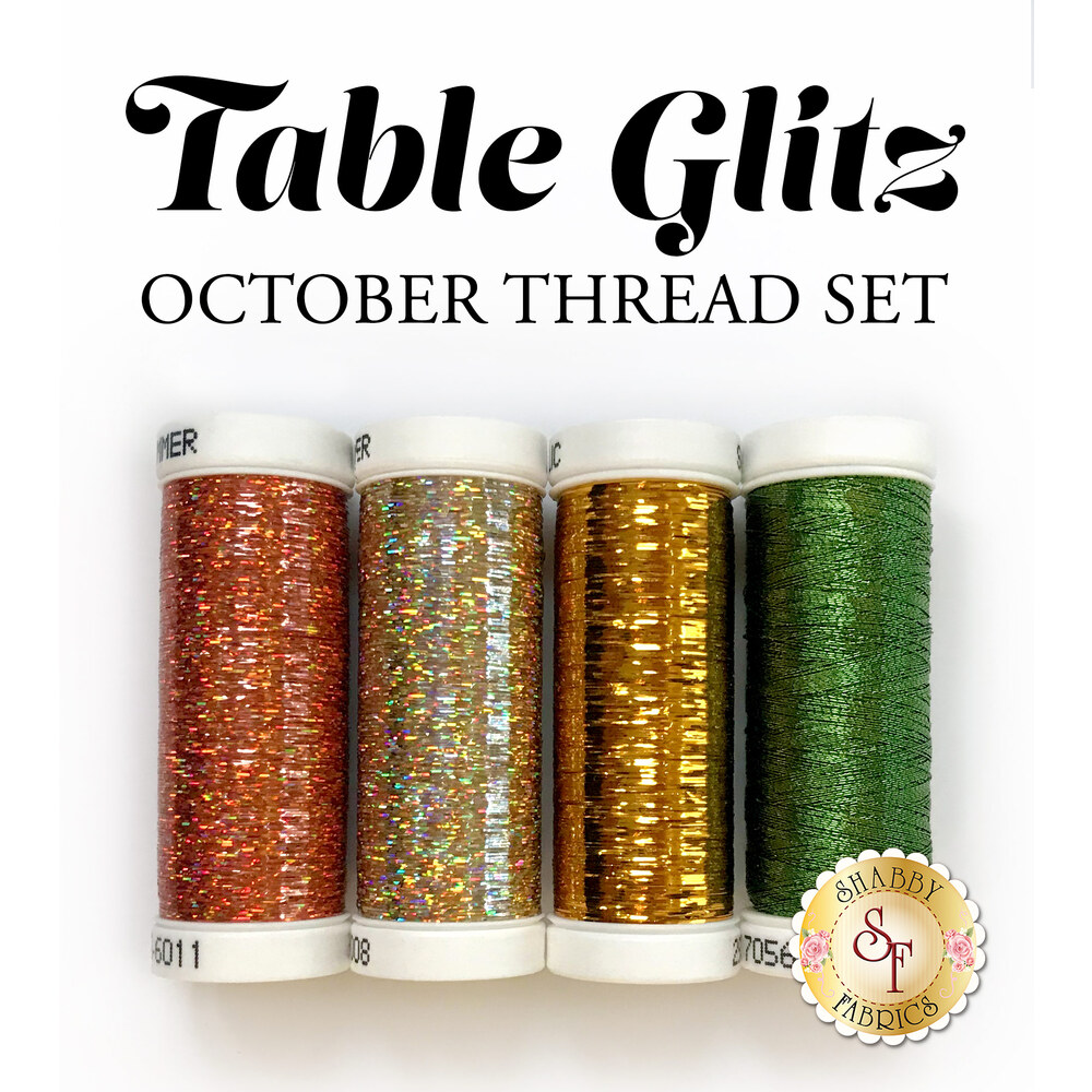 Table Glitz Series - October - 4 pc Thread Set