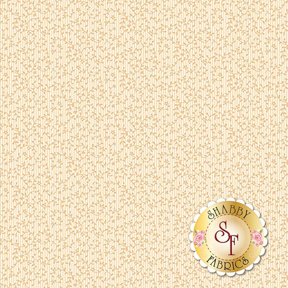 Tonal cream vines  | Shabby Fabrics