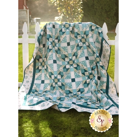 Teal We Meet Again Quilt Pattern