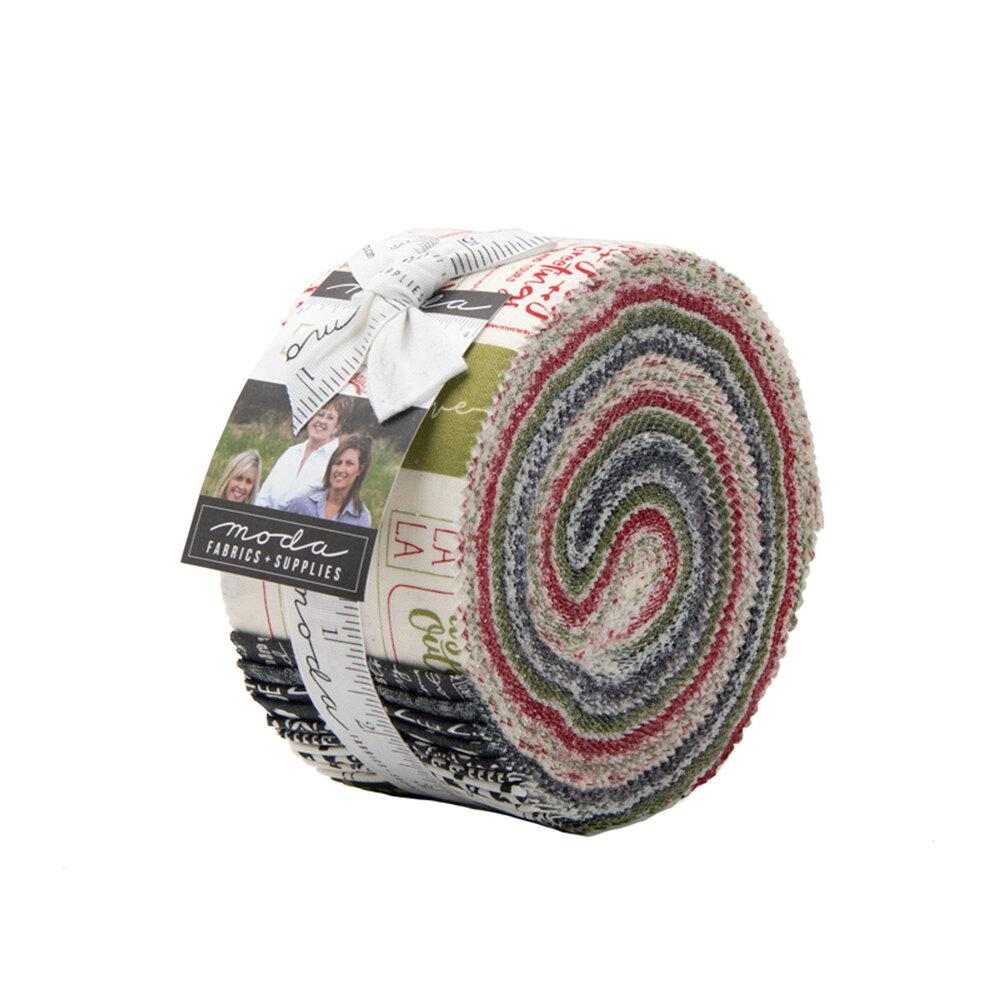 The Christmas Card Jelly Roll | Shabby Fabrics