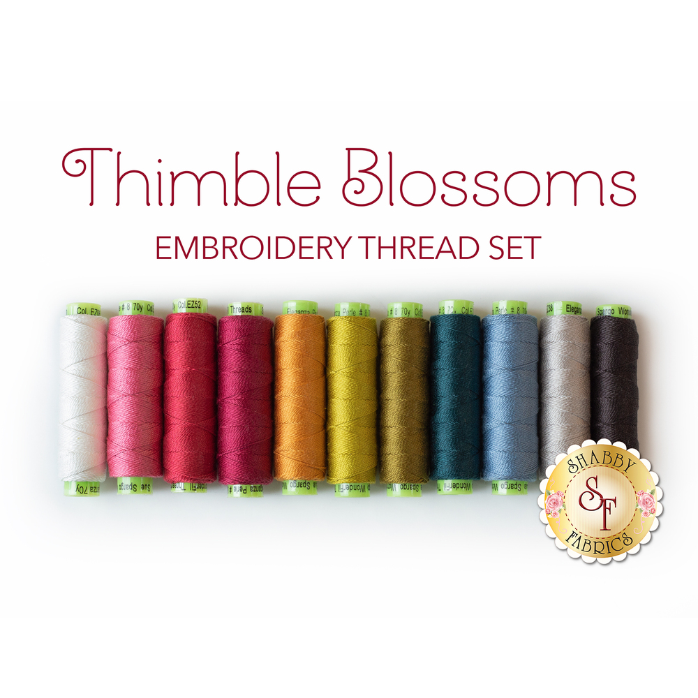 Thimble Blossoms BOM - 11pc Embroidery Thread Set