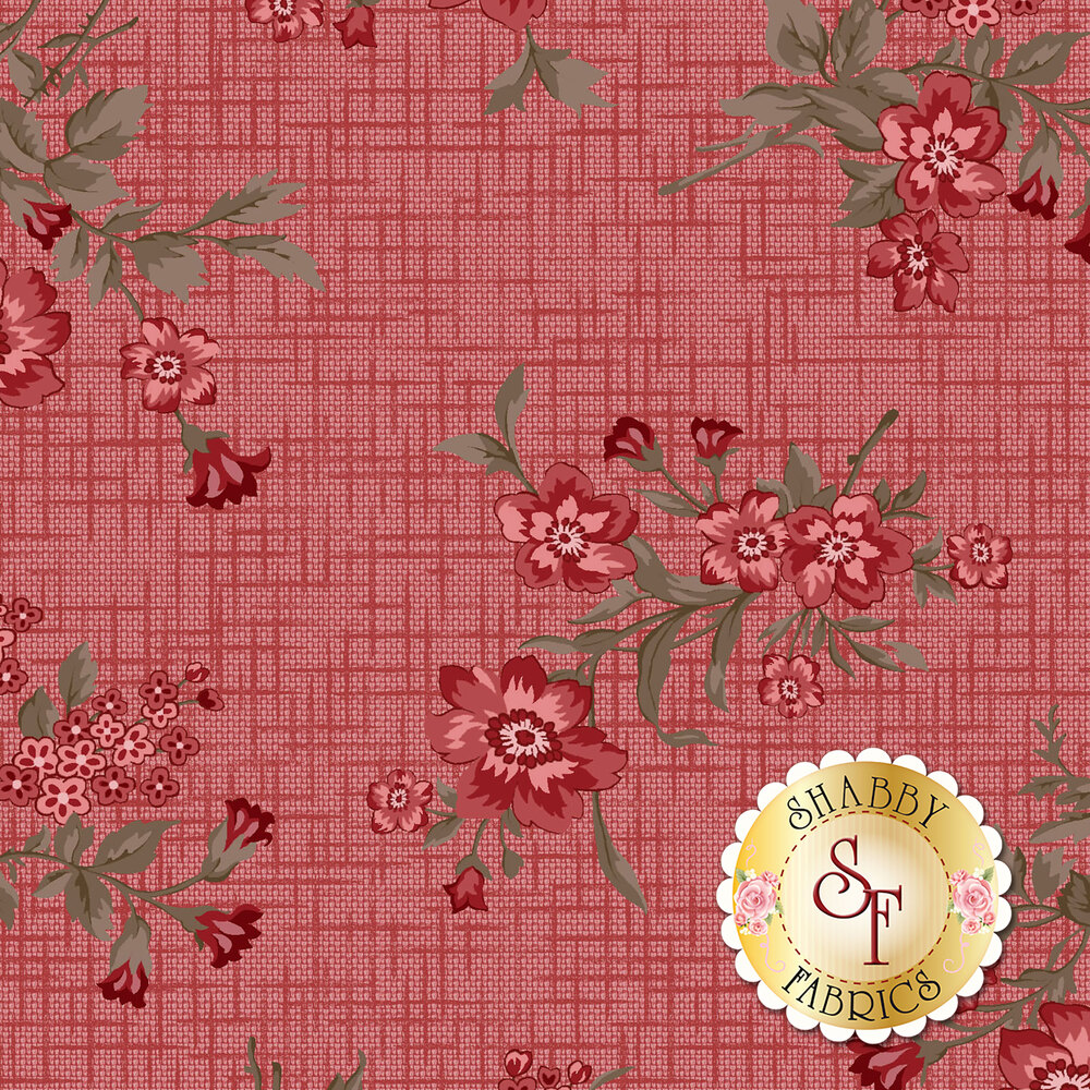 Tickled Pink  Yardage for Henry Glass Fabrics