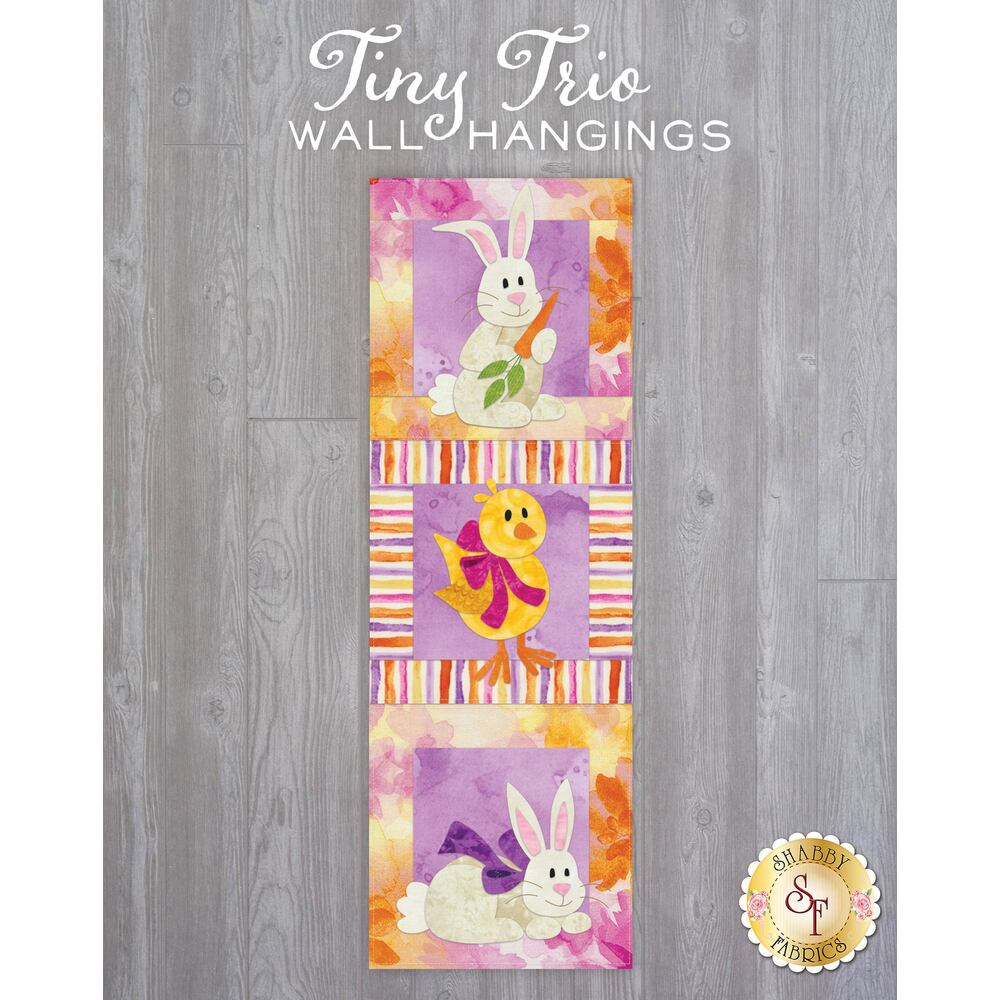 Tiny Trio Wall Hangings - Hoppy Easter - April - Laser Cut Kit