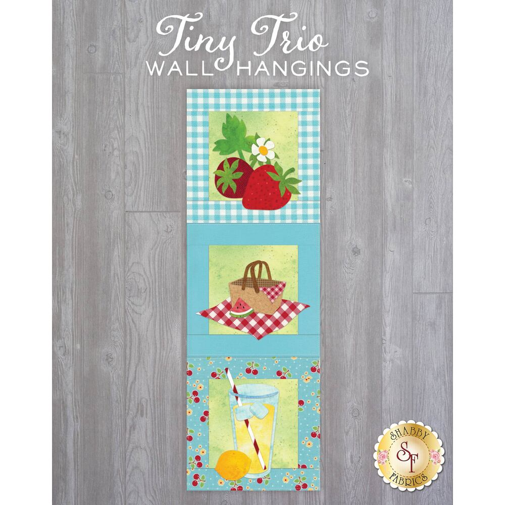 Tiny Trio Wall Hangings - Backyard Picnic - June - Laser Cut Kit