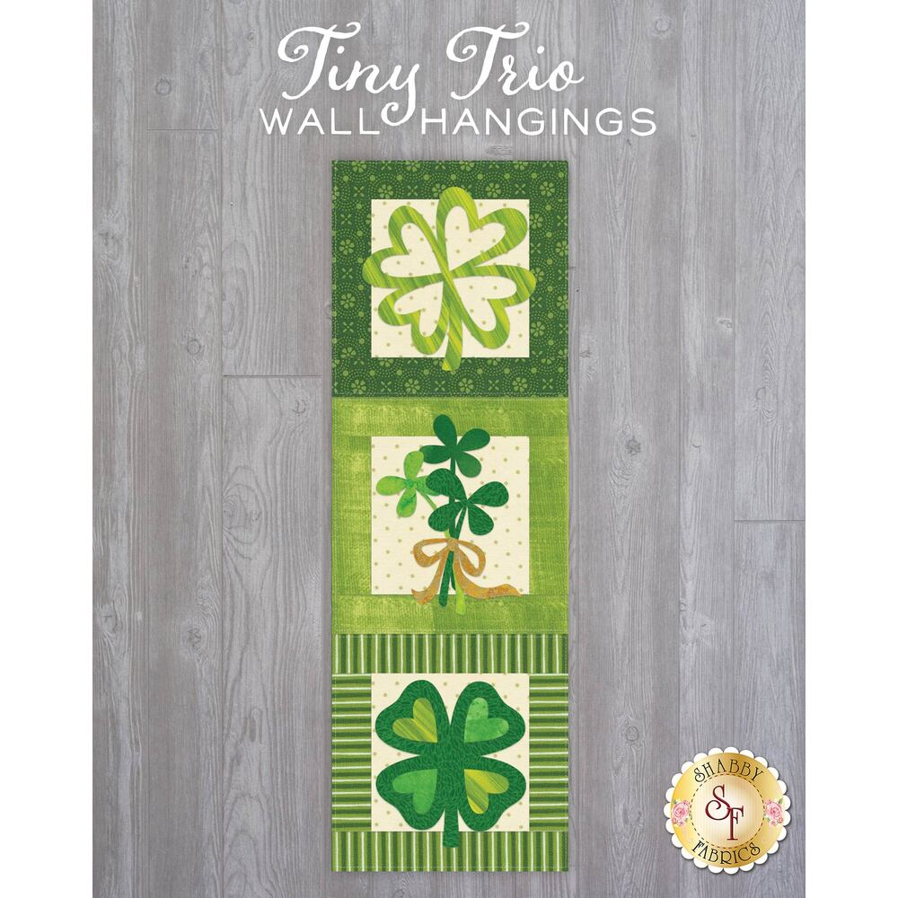 Tiny Trio Wall Hangings - Lucky Leaves - March - Laser Cut Kit