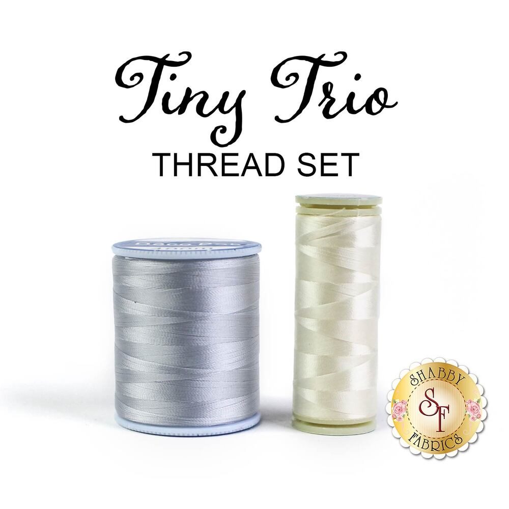 Tiny Trio Wall Hangings - 2pc Thread Set