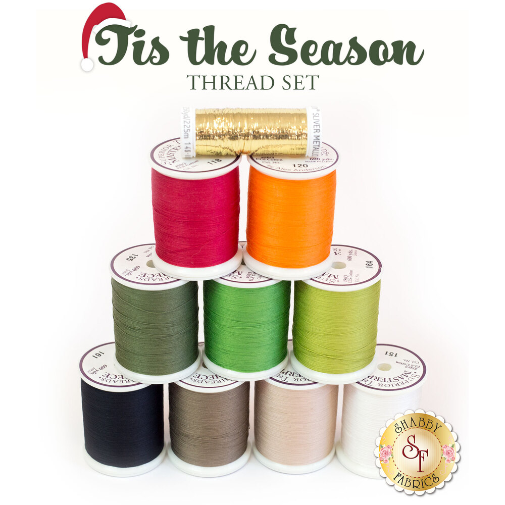 Tis The Season BOM - 10pc Thread Set