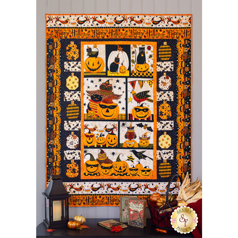 Too Cute To Spook Quilt Kit