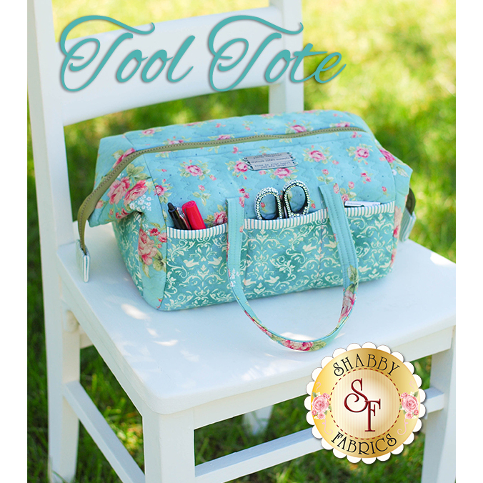 Tool Tote Pattern - Metal bars included