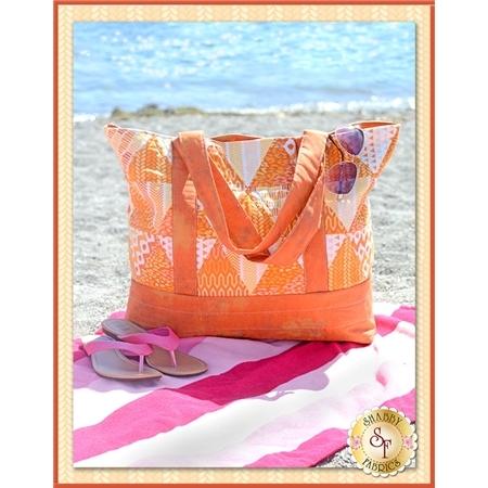 Trendy Triangle Tote Bag - Orange Kit