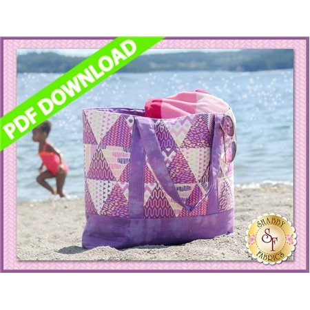 Trendy Triangle Tote - PDF DOWNLOAD