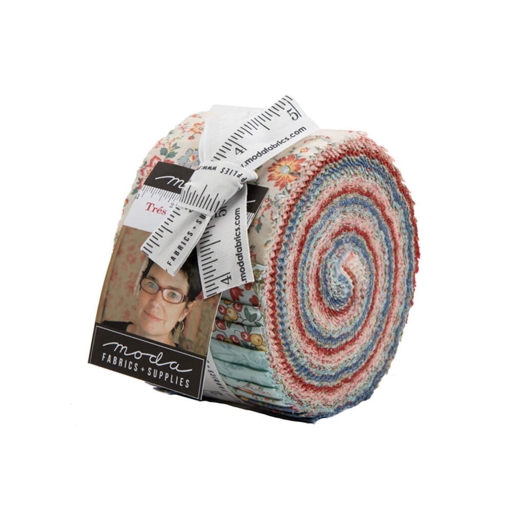 Tres Jolie Lawns Jelly Roll | Shabby Fabrics