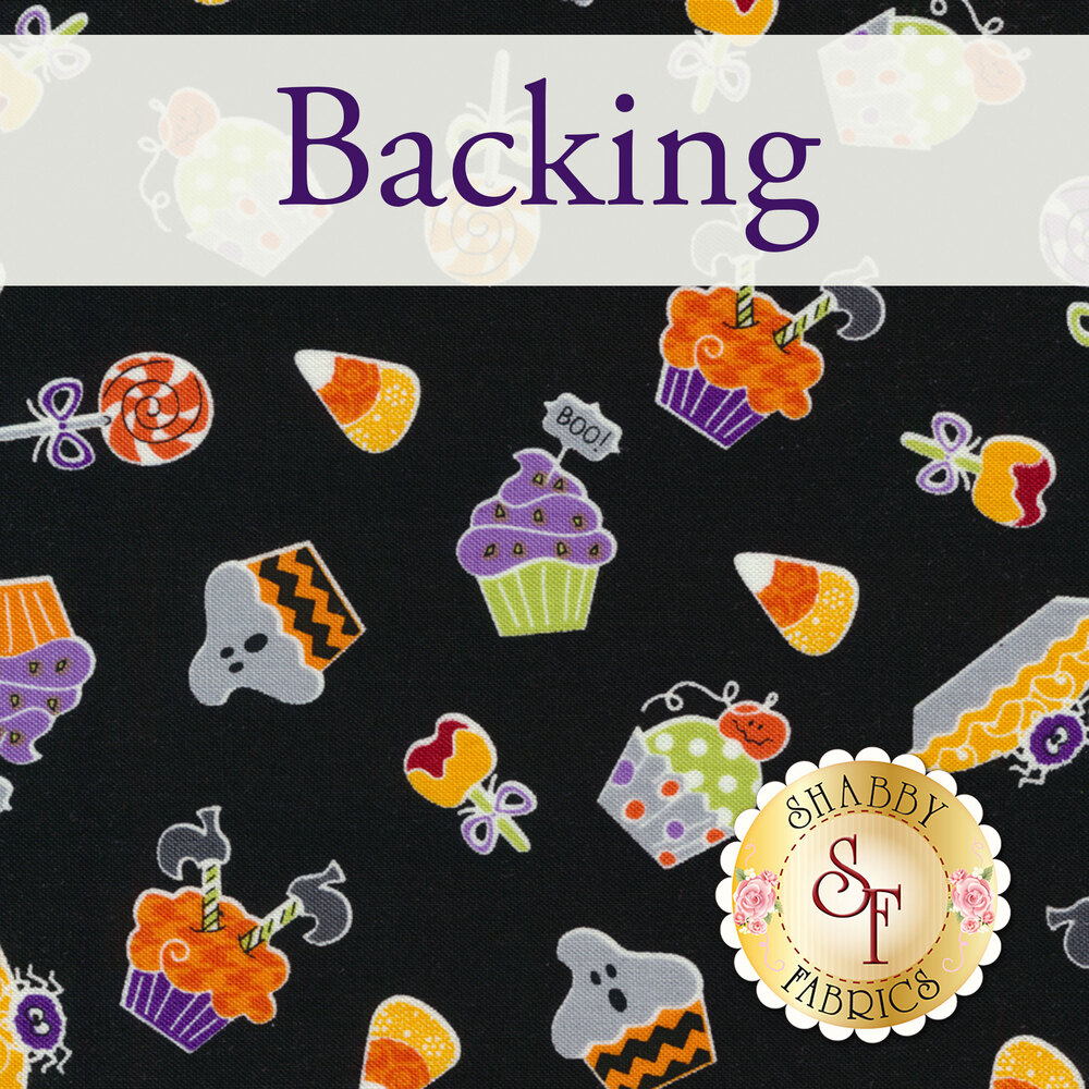 Trick or Treat Smell My Feet BOM - Backing - 3 yards