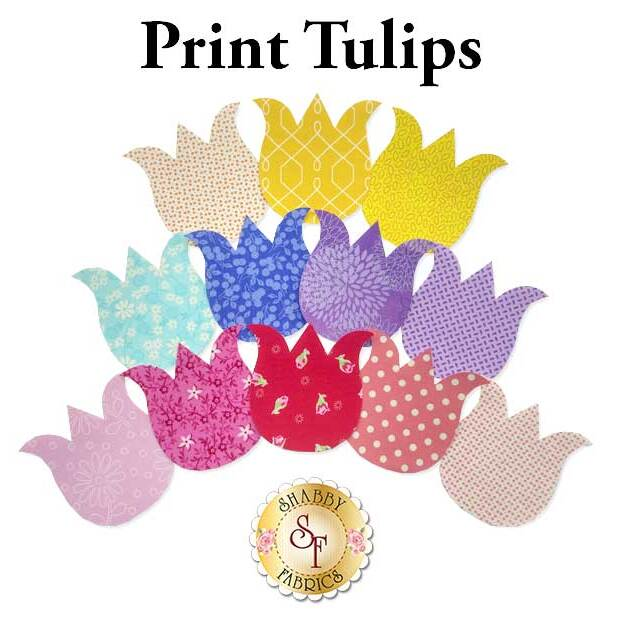 Laser-Cut Print Tulips - 4 Sizes Available!