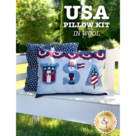 USA Pillow Kit - In Wool