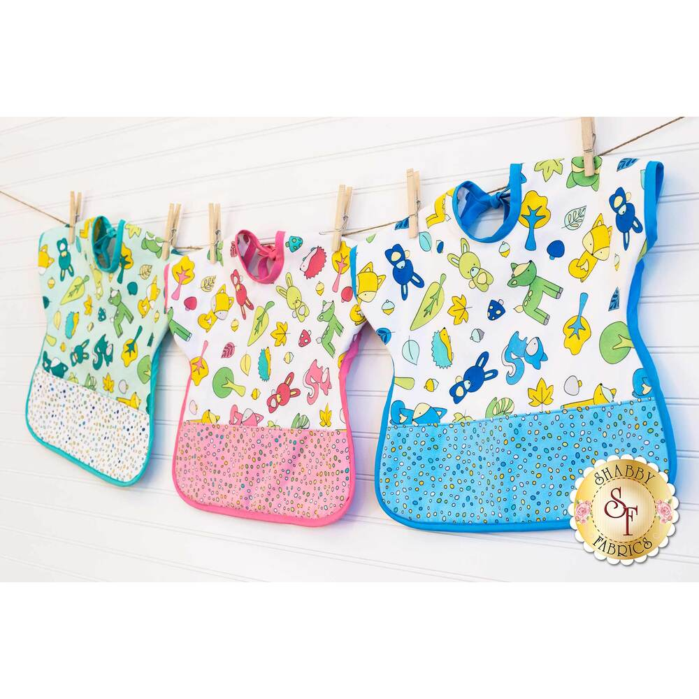 Ultimate Toddler Bib - Woodland Critters Kit - Video Project