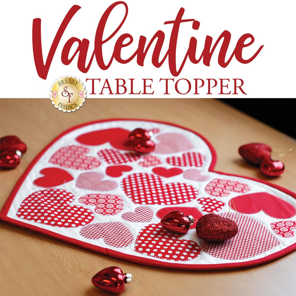 Valentine Table Topper Pattern