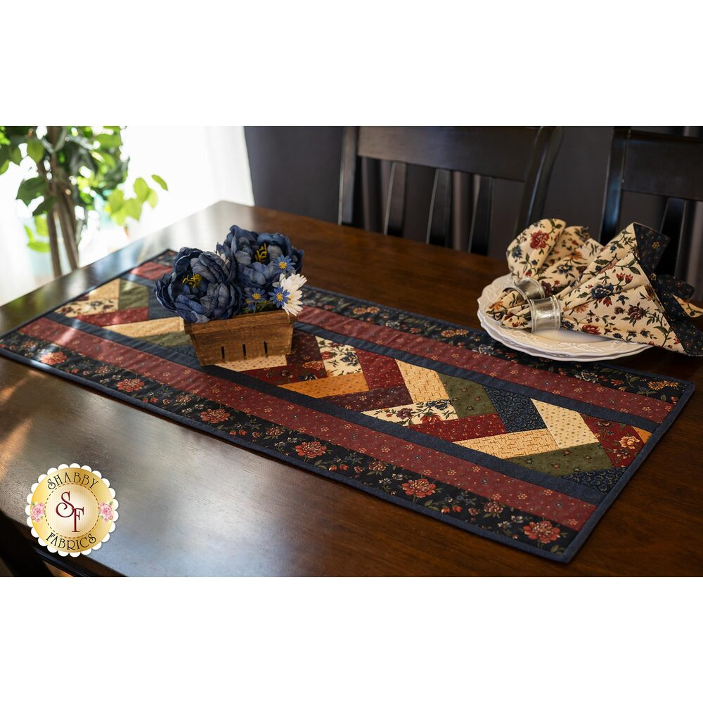 Quilt As You Go Venice Table Runner Kit - Through The Years