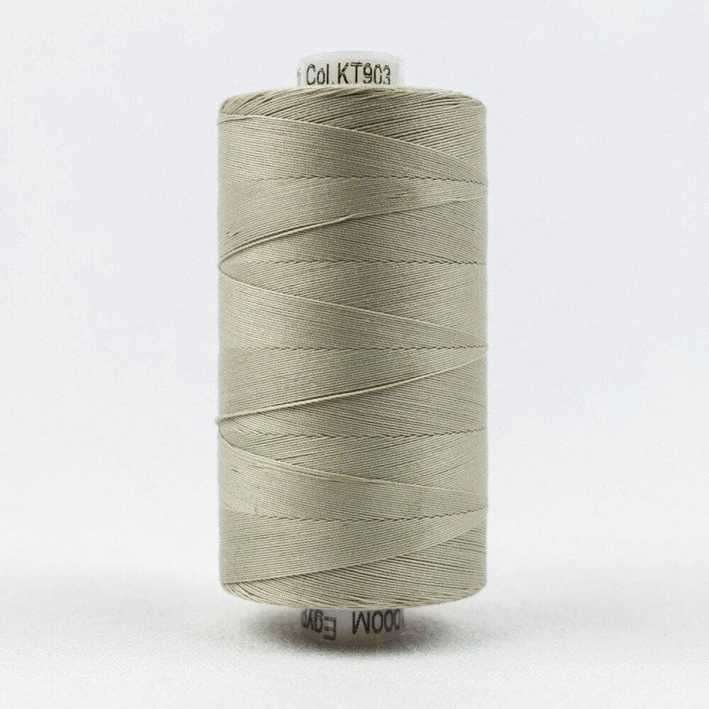 Spool of Konfetti KT903 Very Light Gray thread | Shabby Fabrics