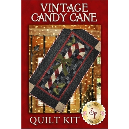 Vintage Candy Cane Wall Hanging Kit - INCLUDES WOOL!