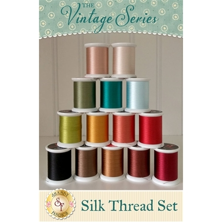 The Vintage Series Club - 14pc Silk Thread Set