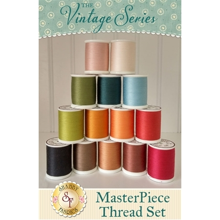 The Vintage Series Club - 14pc MasterPiece Thread Set