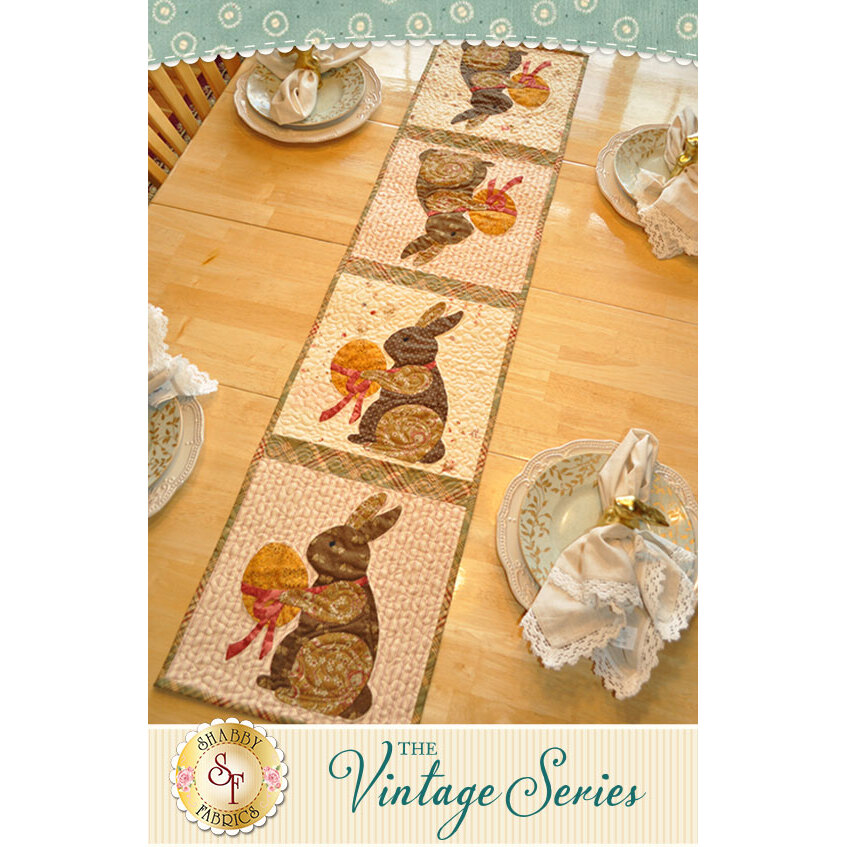 The Vintage Series - April Table Runner Pattern