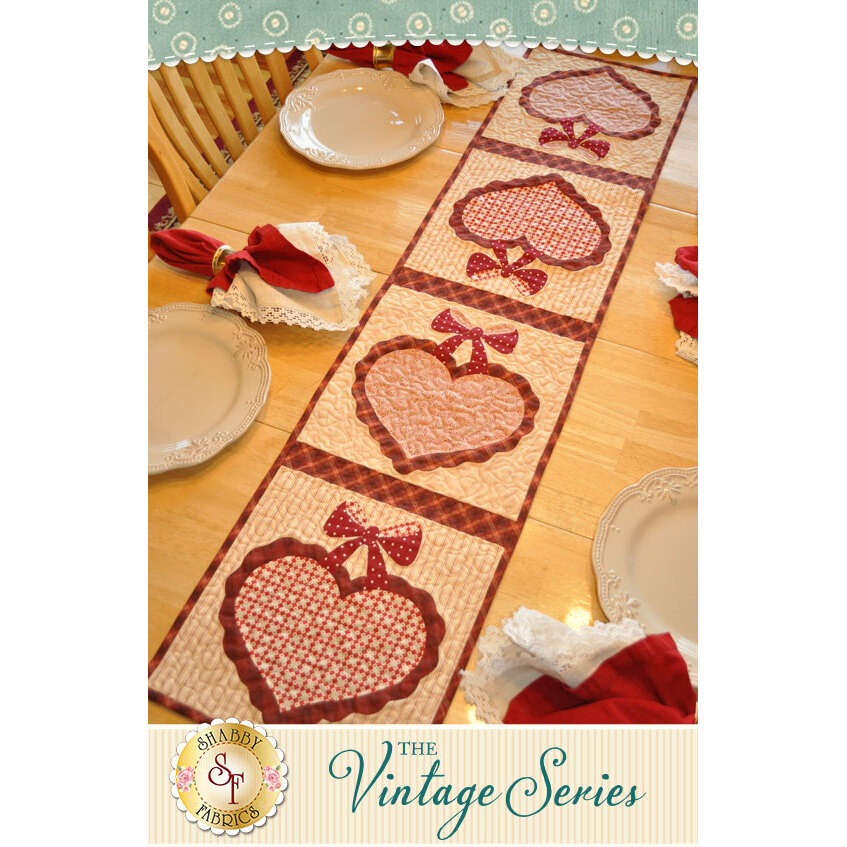 The Vintage Series - February Table Runner Kit