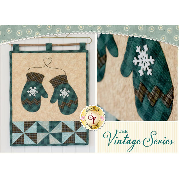 Vintage Series Wall Hangings - January - SAMPLE Wall Hanging