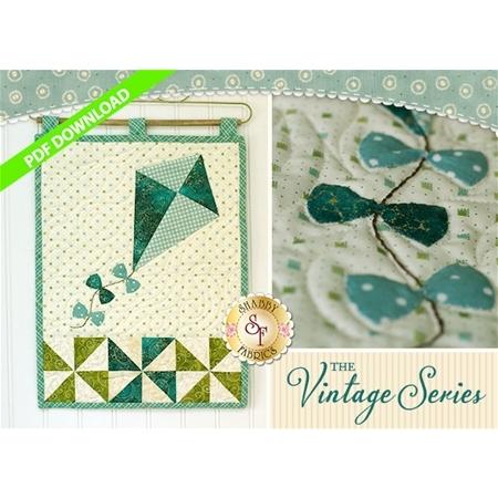 Vintage Kite - Wall Hanging Pattern - PDF DOWNLOAD