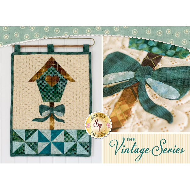 Vintage Birdhouse - Wall Hanging Pattern