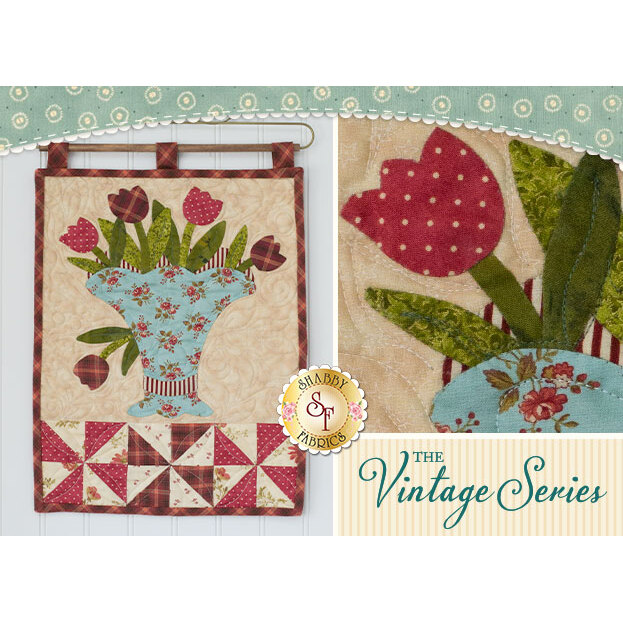 Vintage Bouquet Wall Hanging - May - Pattern