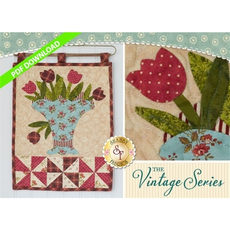 The Vintage Series - May Wall Hanging Pattern - PDF DOWNLOAD