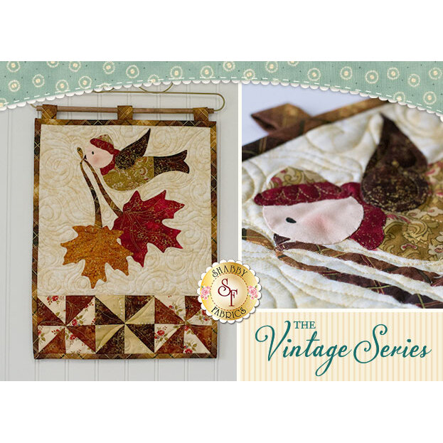 Vintage Maple Leaf - Wall Hanging Pattern