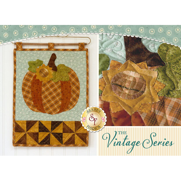 The Vintage Series - October Wall Hanging Pattern