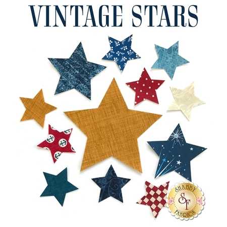 Laser-Cut Vintage Star Set - Variety Pack
