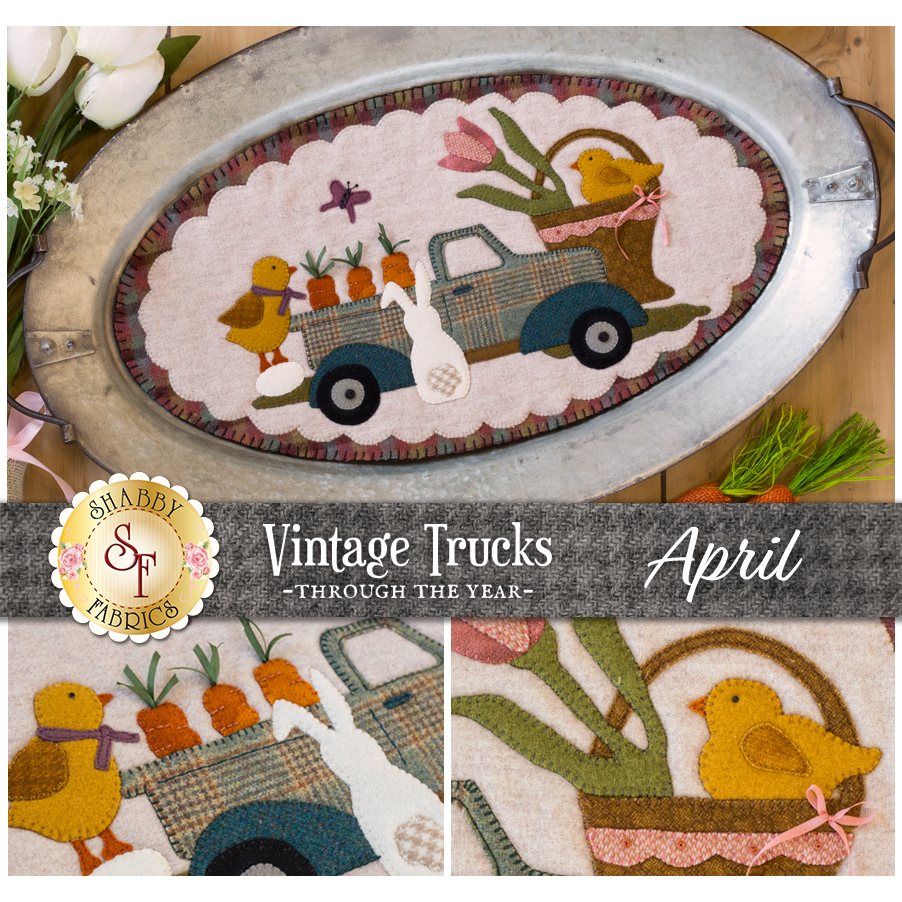Vintage Trucks - April - Wool Kit
