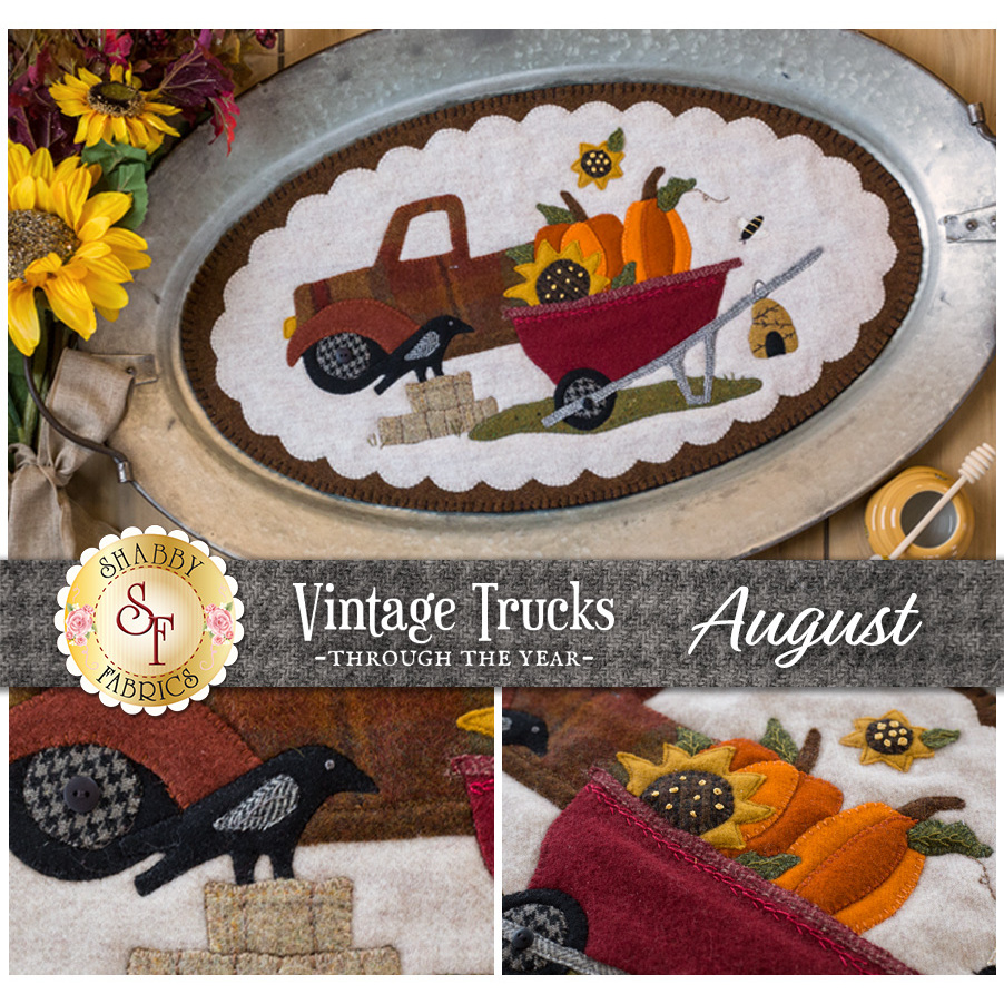 Vintage Trucks - August - Wool Kit