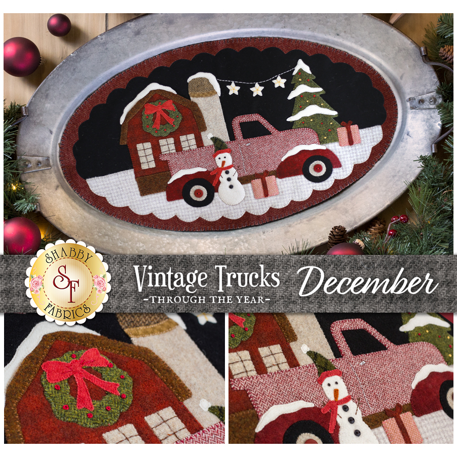Vintage Trucks - December - Wool Kit