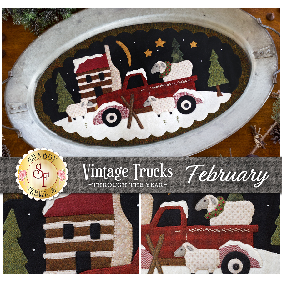 Vintage Trucks - February - Wool Kit