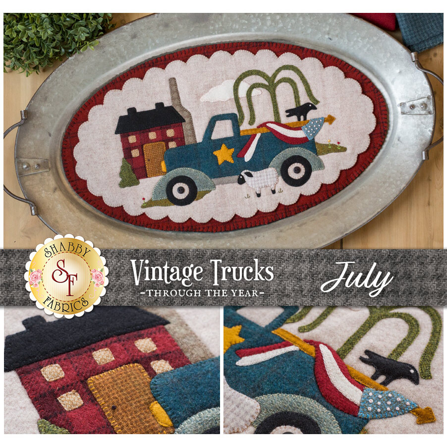 Vintage Trucks - July - Wool Kit