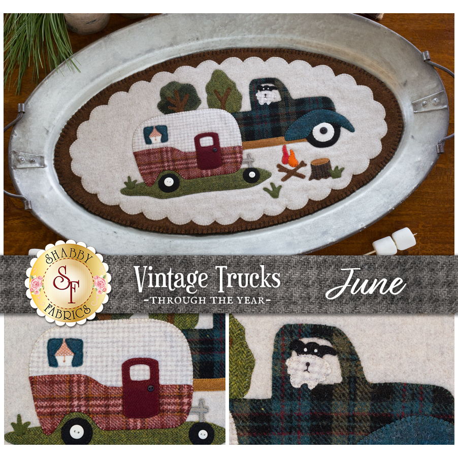 Vintage Trucks - June - Wool Kit