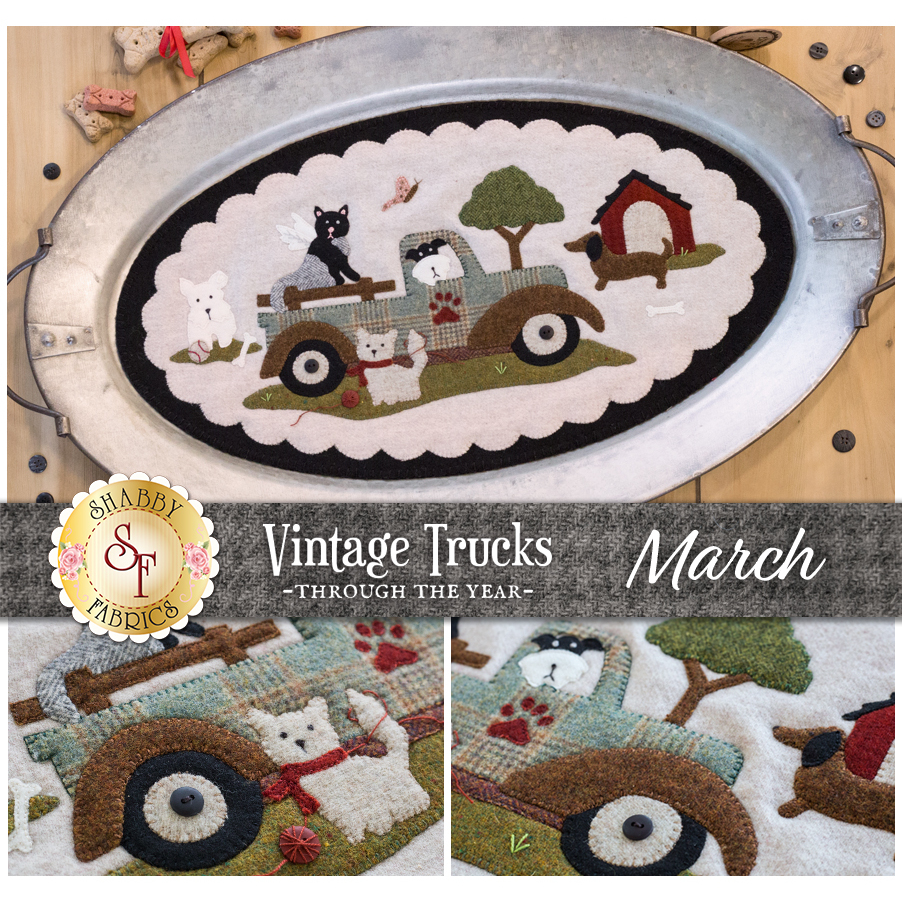 Vintage Trucks - March - Wool Kit