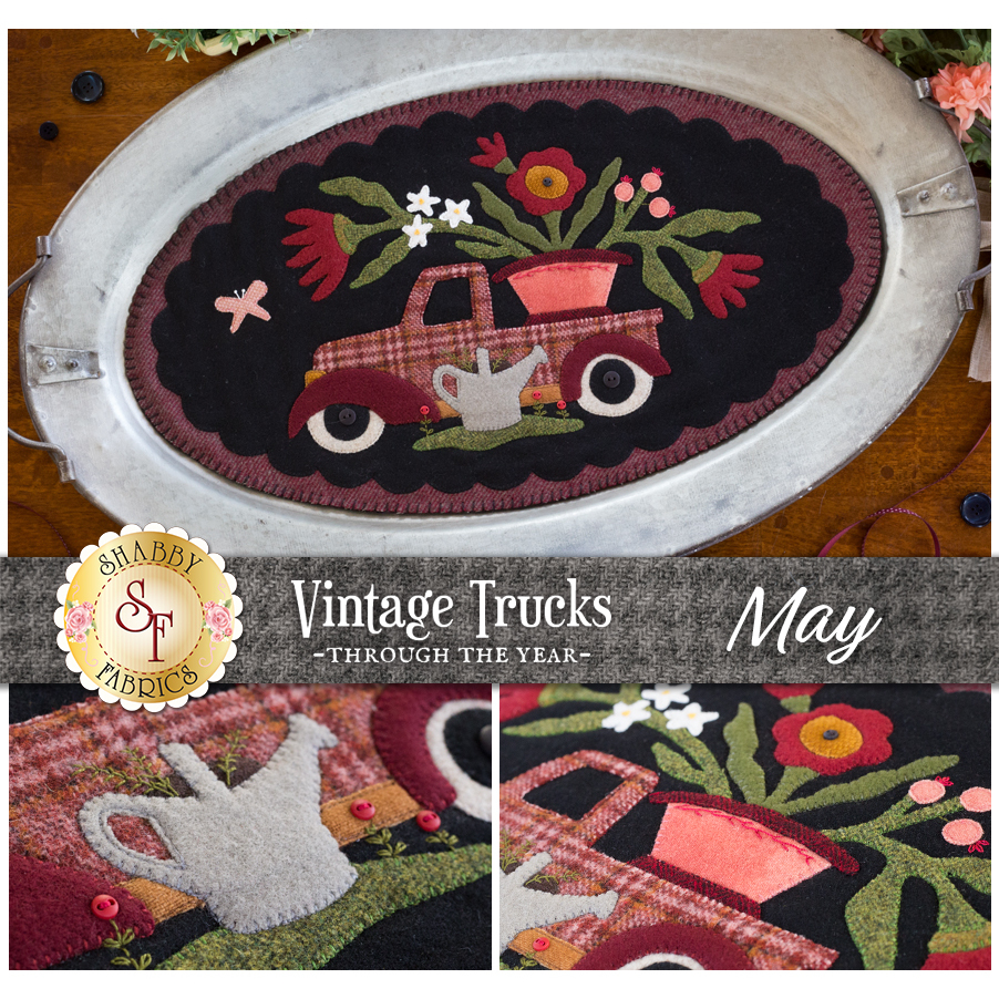 Vintage Trucks - May - Wool Kit