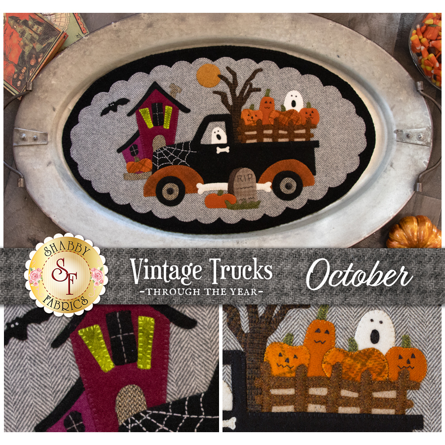 Vintage Trucks - October - Wool Kit