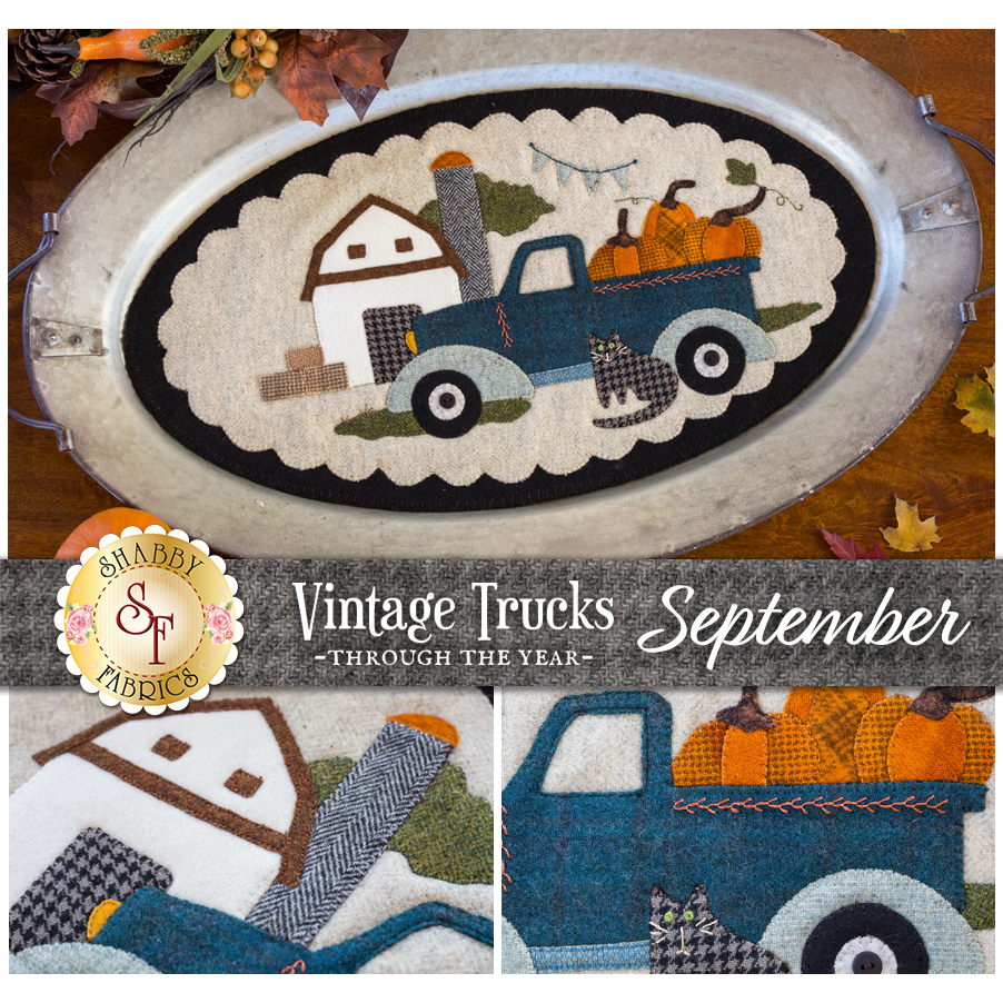 Vintage Trucks - September - Wool Kit