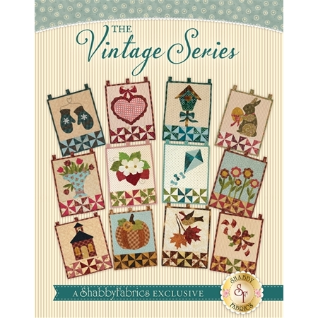 The Vintage Series Wall Hangings - Set of 12 Patterns