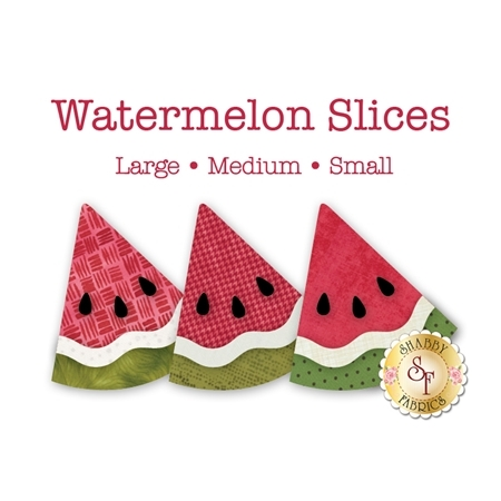 Laser-Cut Watermelon Slices - 3 Sizes Available
