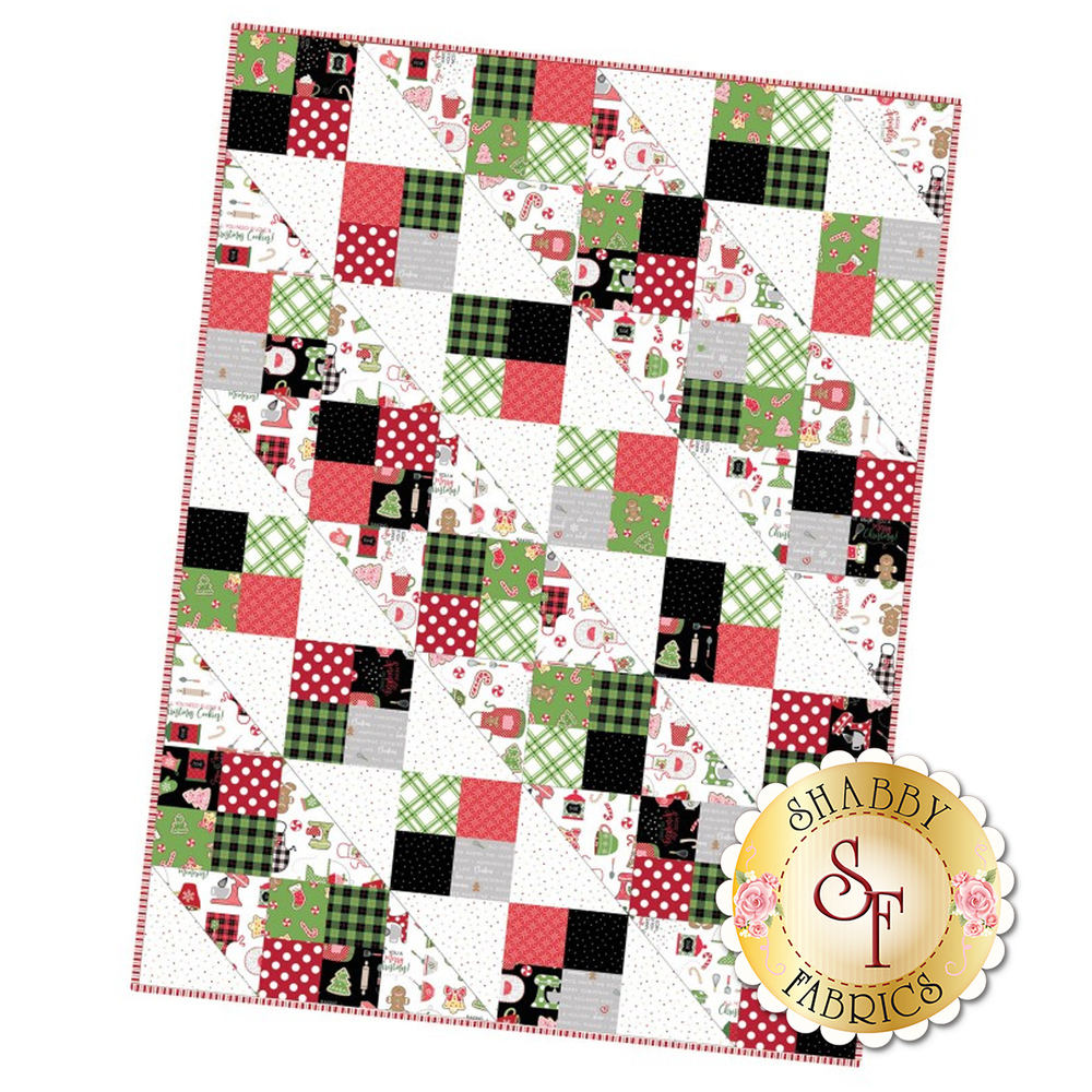 Four Square Precut Kit - We Whisk You A Merry Christmas